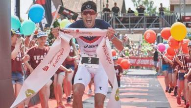 Photo of Jan Frodeno IRONMAN 2019 World Champion with 7: 51: 13, test record