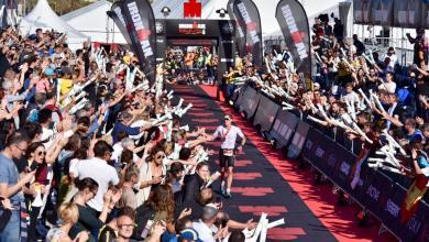 Photo of 3.800 triathletes at IRONMAN Barcelona