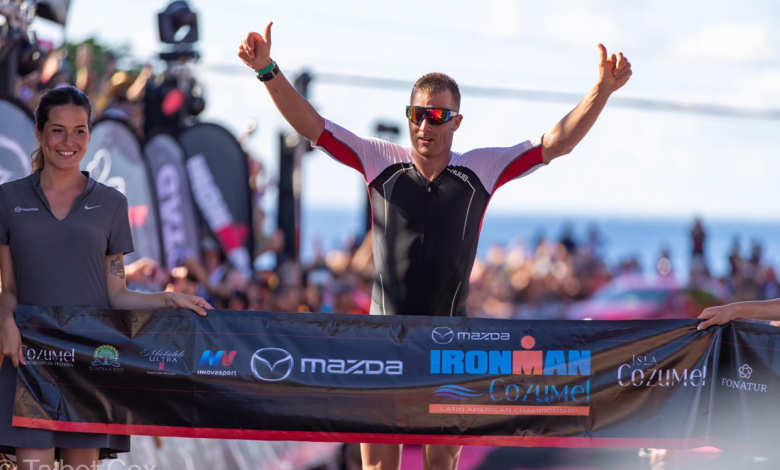Photo of Tyler Butterfield, record in the IRONMAN Cozumel and sixth best time in distance IRONMAN