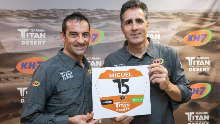Miguel Indurain returns to competition in the Titan Desert