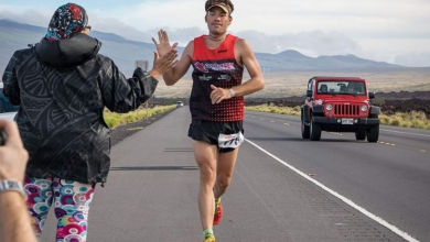 Photo of Marc Puig, with the aim of improving his fifth place in the Ultraman of Hawaii
