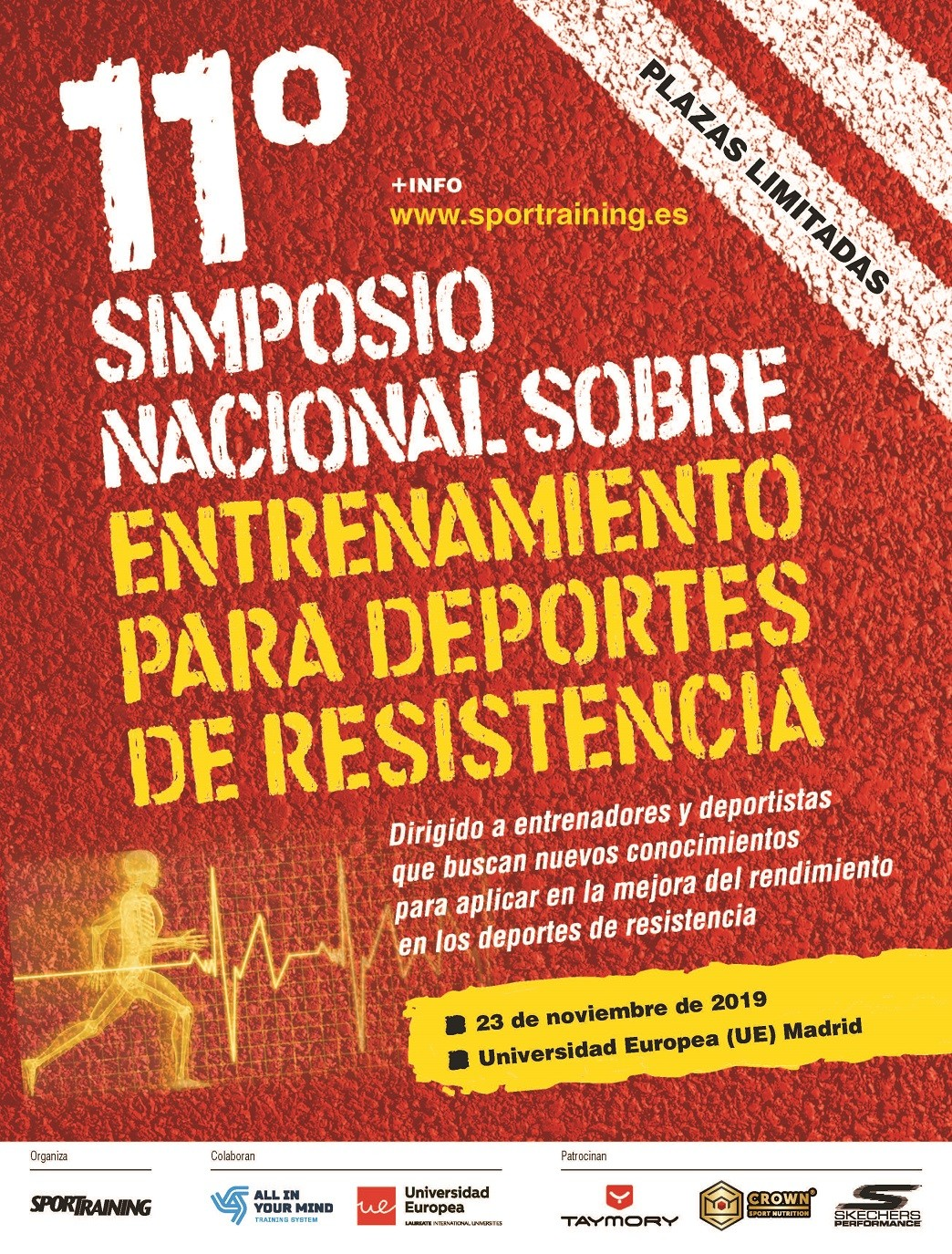 2019 National Sports Resistance Symposium Poster