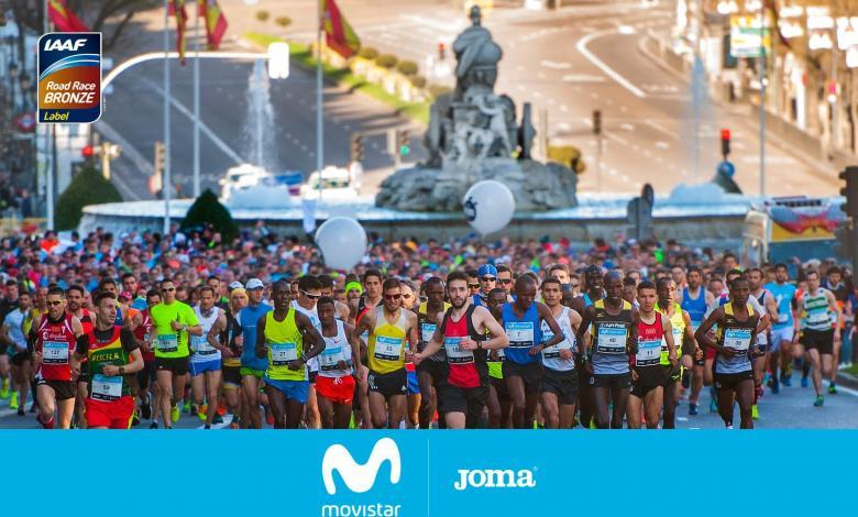 calendario media maraton 2020