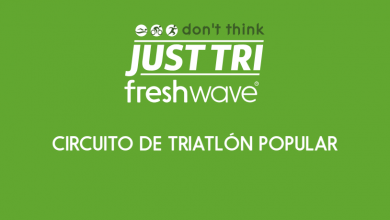 Logo circuito popular triatlon Just Tri