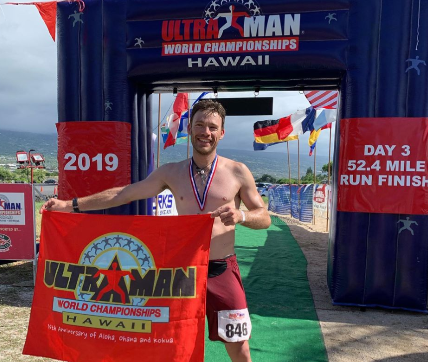Mar Puig second in the Ultraman Hawaii 2019