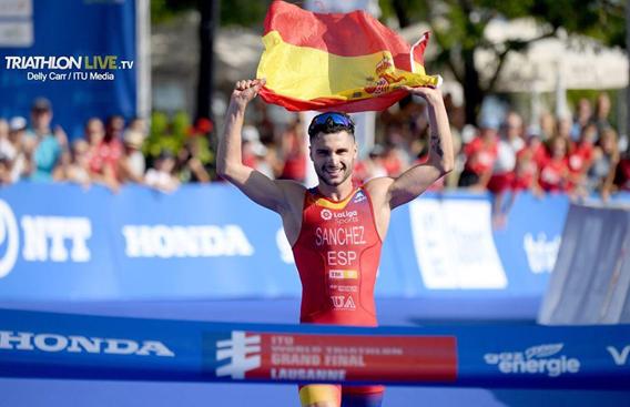 Roberto Sánchez Mantecón ganando el Mundial Sub 23 2019