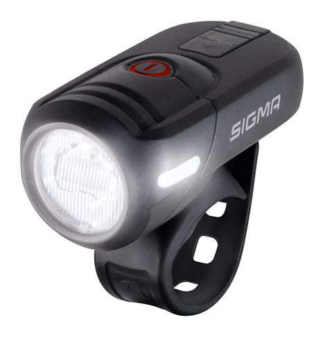 More power in SIGMA's AURA headlamps, with 35, 45 and 80 lux
