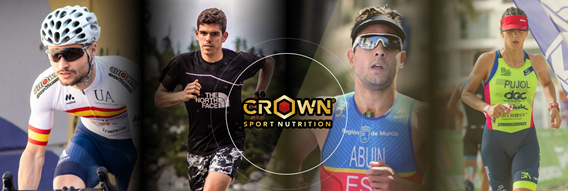 Atletas Crown Sport Nutrition en triatlón