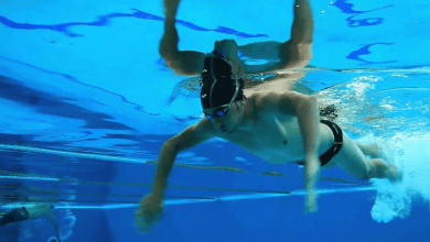 Photo of (Video) The importance of rowing exercises in swimming