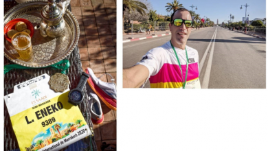 Photo of Eneko Llanos hace 1:11 en la media maratón de Marrakech