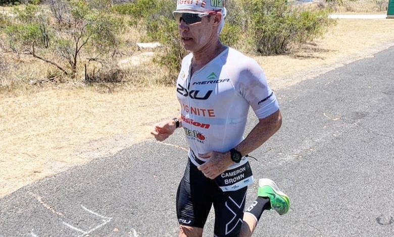 Photo of Cameron Brown will look for his 21st podium at the IRONMAN New Zeland with 47 years