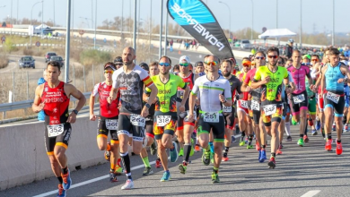Photo du circuit de triathlon de Korona Madrid: 5 tests avec 7 disciplines de duathlon et triathlon