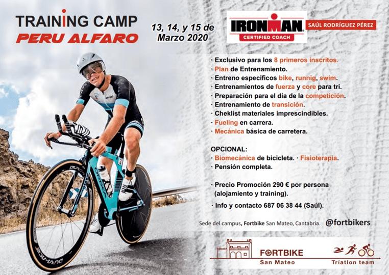 Programa Training Camp Peru Alfaro en Cantabria