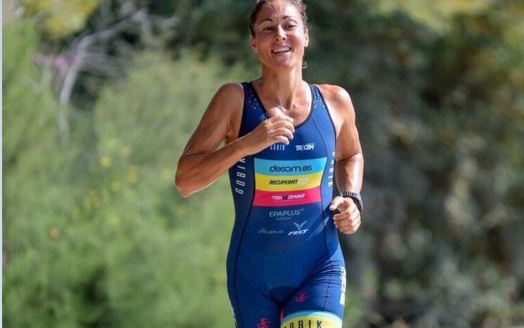 Judith Corachán tercera en la Media Maratón de Sitges
