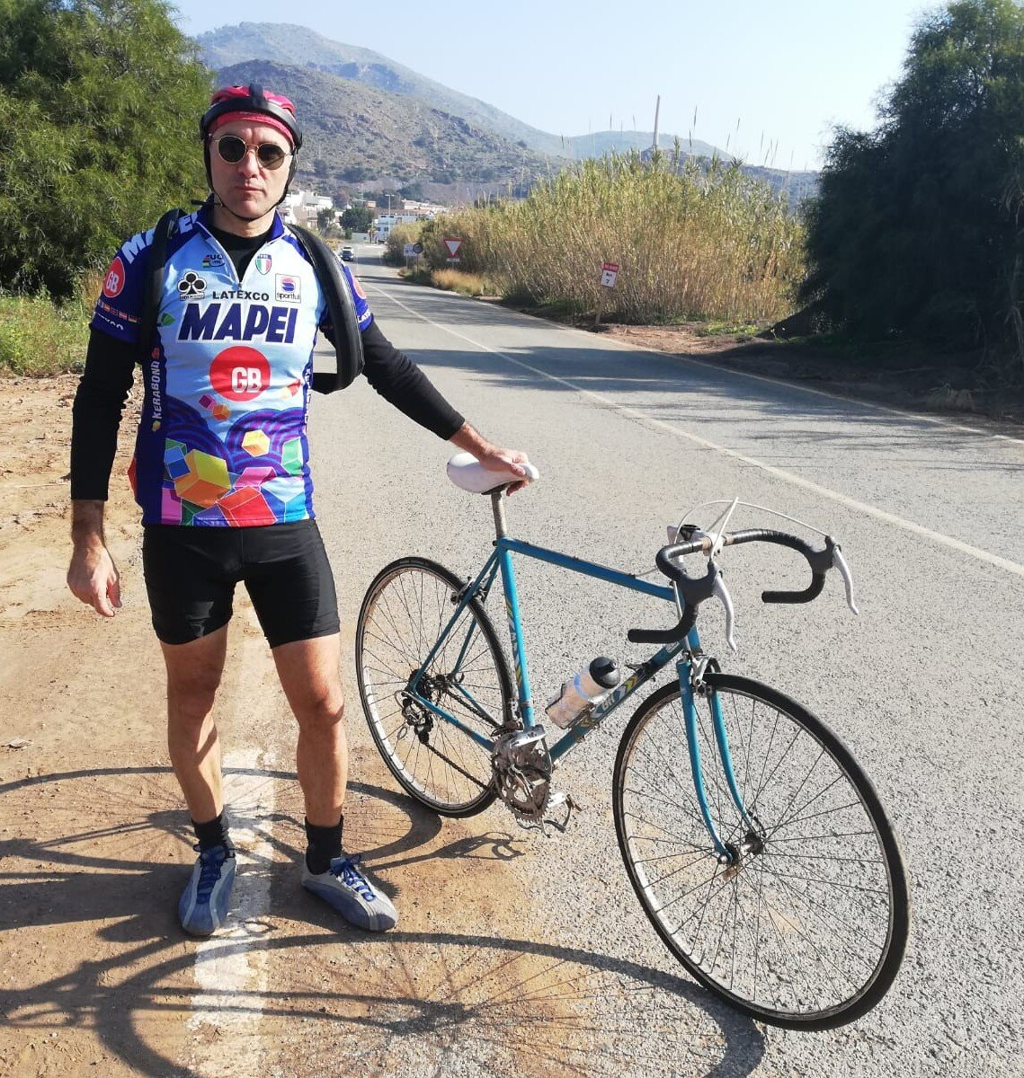 Un español hace el primer Everesting Vintange