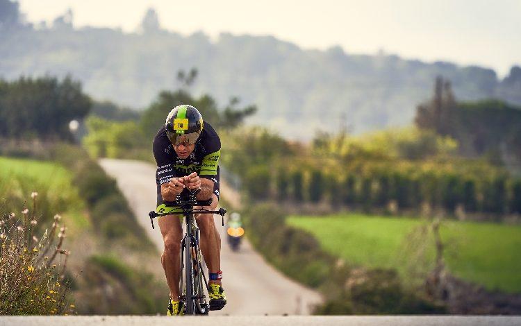Rafa babot / Cycling segment of the Triathlon Portocolom
