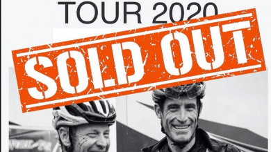 "Cartel de ""Sold Out"" del Tour Mallorca de Lance Amstrong"