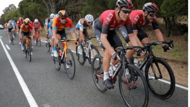 Photo of Cameron Wurf lo da todo y no acaba su primera prueba como ciclista en el INEOS
