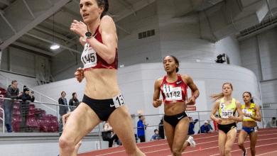 Photo of Gwen Jorgersen, récord personal en 5.000 metros