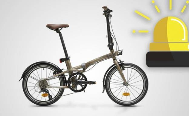 folding bike BTWIN Tilt 900 version