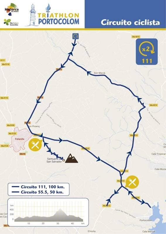 Cycle segment Triathlon Portocolom