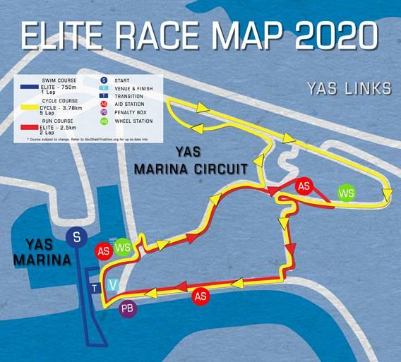 WTS Abu Dhabi 2020 Circuit