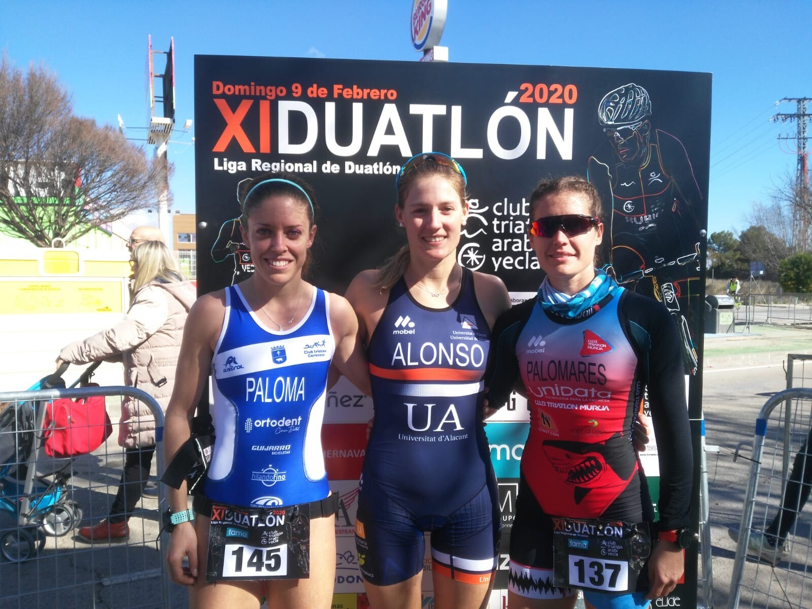 Fernando Alarza y Camila Alonso ganan en el Duatlón Ciudad de Yecla