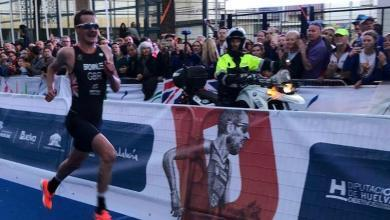 Photo of Alistair Brownlee starts off on the right foot, bronze at the Duathlon European Championship