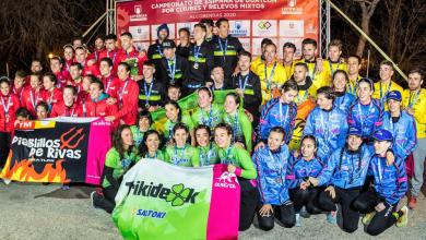 Photo of Marlins Triathlon and Saltoki Trikideak Spanish Champions of Duathlon by Clubs