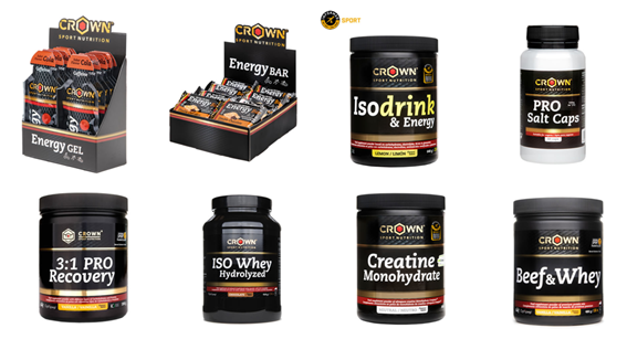 Crown Sport Nutrition contributes its grain of sand to the crisis with a 25% discount on its entire website