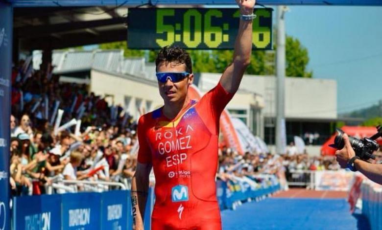 Photo of Javier Gómez Noya the ITU Champion of Champions