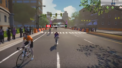 Photo of Lionel Sanders wins the virtual challenge the Ronde Van Zwift Race