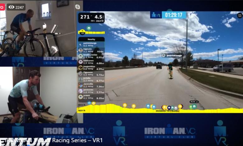 Directo: IRONMAN VR Pro Challenge Patrick Lange