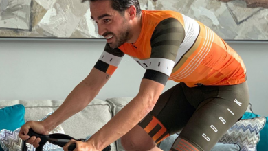 Photo of Another Indoor Training Session by Alberto Contador