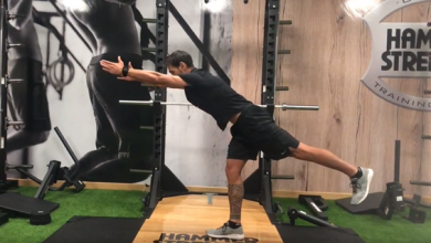 Photo of 4 exercises to balance strength between one leg and another