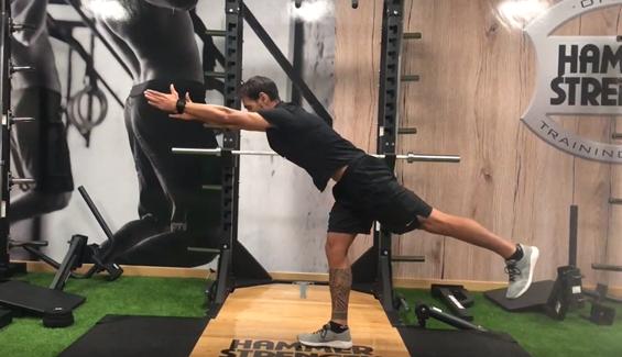 ejercicios para equilibrar la fuerza piernas