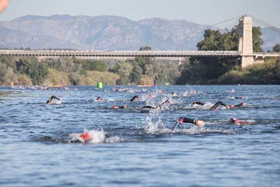 Segment de natation TriTour Amposta