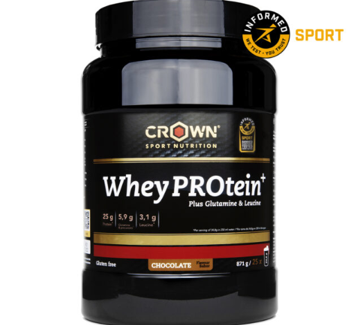 la nueva Whey PROtein+ de Crown Sport Nutrition