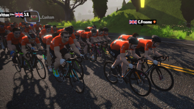Photo of Baten el récord mundial en Zwift, 1.008 km en 24 horas, en un maratón solidario