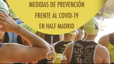 Photo des mesures de prévention de la moitié de Madrid contre Covid-19