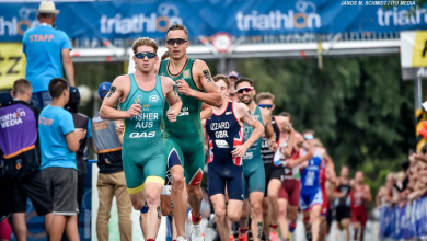 Photo du calendrier mis à jour du triathlon de l'UIT pour Europe 2020 Covid-19