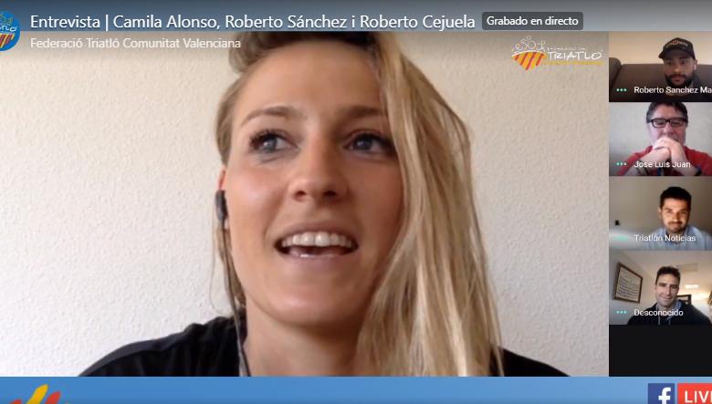 tertulia con Roberto Sánchez Mantecón, Camila Alonso y con Roberto Cejuela