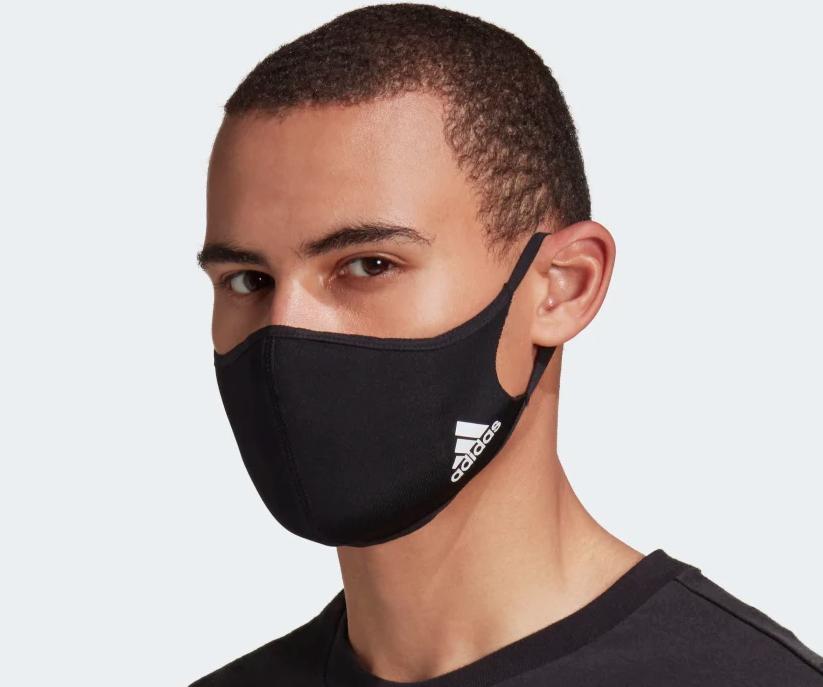 Adidas lanza su mascarilla deportiva
