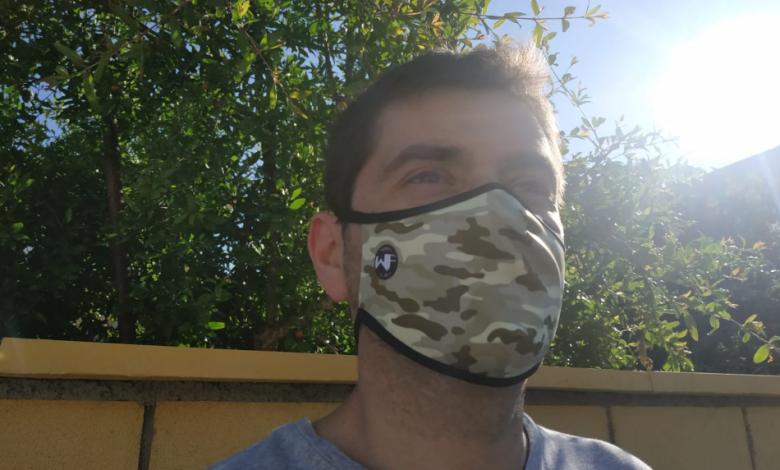 Analizamos la mascarilla deportiva de Inverse WindFlap