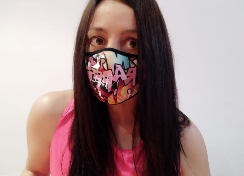 We analyze the Inverse WindFlap sports mask