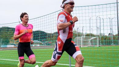 Photo of Kristian Blummenfelt 13:51 en una competición 5k