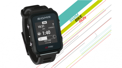 Photo of SIGMA's triathlon watch, the ID.TRI