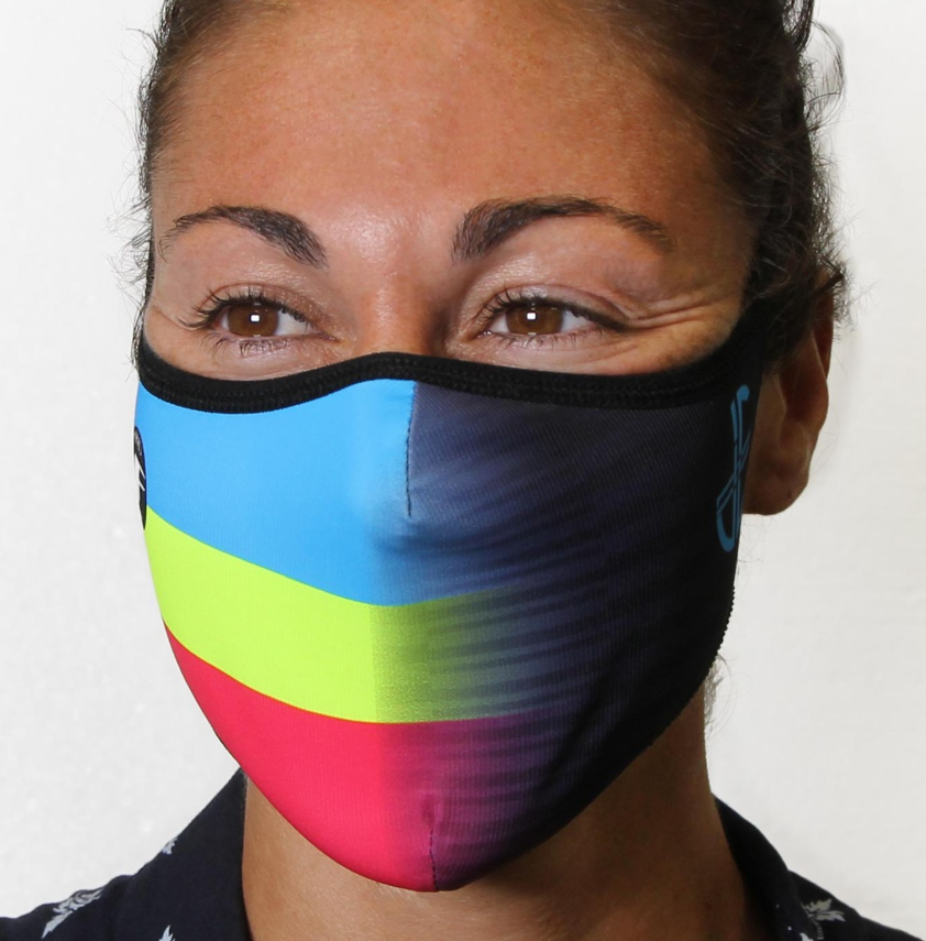 Judith Corachán presents her official Inverse Windflap® mask.