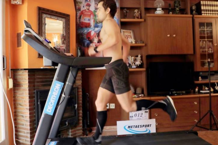 Photo of Beat the world record with 12 hours running on the treadmill