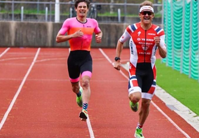 Kristian Blummenfelt gana un 5k en Noruega